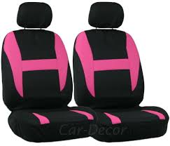 pink and black cars pink black auto seat cover girly car accessory dressing topanga