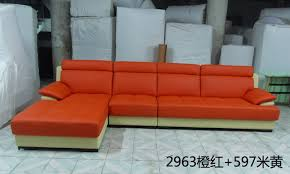orange sectional sofa promotion shop for promotional orange