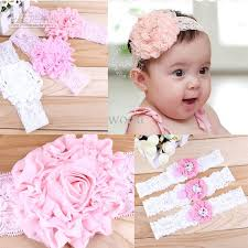 infant headbands shinny flower babies headband newborn infant headbands handmade