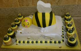 bumble bee baby shower theme bee themed baby shower cakes home party theme ideas