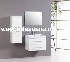 Wall Bathroom Cabinet Sanblasferry - Bathroom cabinets in white gloss