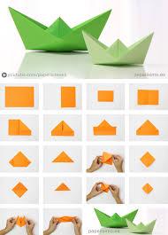 barco de papel paso a paso origami paper boat papelisimo