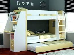 Bunk Bed With Desk And Trundle Bunk Bed With Desk Below View In Gallery Organized Shelf And A