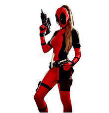 Xl Womens Halloween Costumes Halloween Costume Women Deadpool Costumes Pattern Lycra Spandex