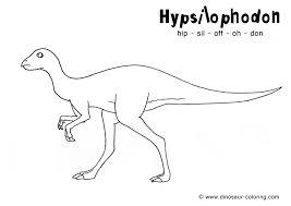 hypsilophodon coloring