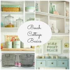 Coastal Cottage Kitchen Design - beach cottage basics lamps plus