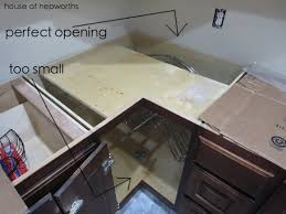 how to install lazy susan cabinet lazy susan situation
