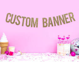 party banner party banner etsy