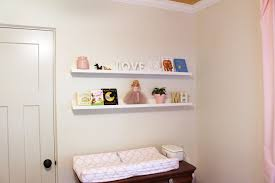 Changing Table Shelf How To Make Ikea Picture Ledge Checking In With Chelsea