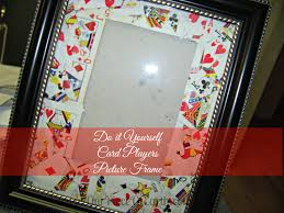 do it yourself gift picture frame our of