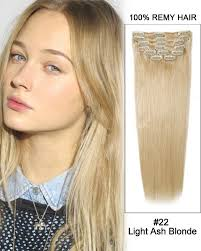 hair extension reviews 22 11pcs 22 light ash clip in remy human hair