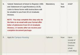 ucla mba admits never received links to get sir or slr