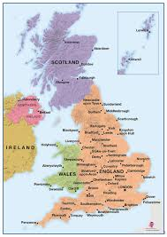 map uk harrogate deskmap uk political a3 pack of ten deskmap