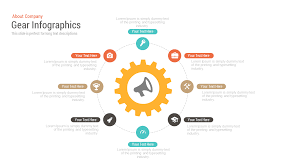 keynote themes compatible with powerpoint gear infographics free powerpoint and keynote template slidebazaar