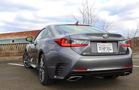 lexus coupe 2015 less is more 2015 lexus rc350 f sport u2013 limited slip blog