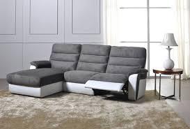 canap relax moderne canapé d angle gauche relax electrique biaritz aruba gris he35 12
