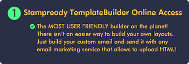 email template builder modern responsive email by bedros