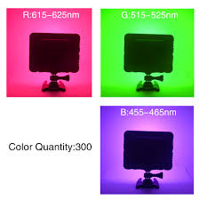 online shop mcoplus color video light white rgb led photography