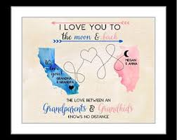new personalized gift time gift grandparent gifts etsy