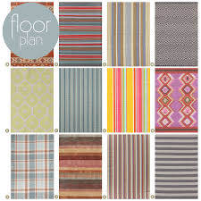 Indoor Outdoor Rug Runner Striped Indoor Outdoor Rug Home And Interior Home