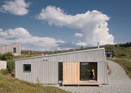 design build magazine uk self build studio nestles into rugged isle of skye landscape