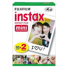 fujifilm instax mini instant film twin pack white 16437396