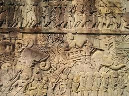 free images rock wood texture wall asia art geology rock wood texture wall asia art geology sketch drawing temple cambodia mural carving figures relief wat
