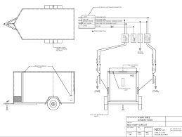 neo trailers at enclosed trailer wiring diagram gooddy org