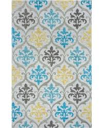 Gray Blue Area Rug Deals On Rizzy Home Lancaster Tufted Indoor Area Rug Gray