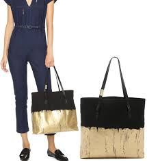 dipped in gold corinna dipped in gold apollo tote