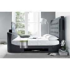 a bed with a built in tv yes please evolution t1 tv bed frame