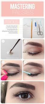 apply glue to your actual lash line instead of the false lashes 16 tips and tricks to help you apply false eyelashes perfectly