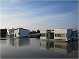 floating houses floating houses harnaschpolder rotterdam centre for resilient