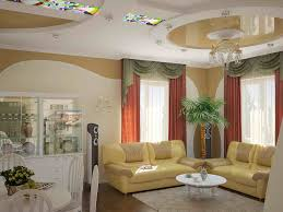 Curtains High Ceiling Decorating Interior Extraordinary Tray Ceiling Design With Decorative Ls