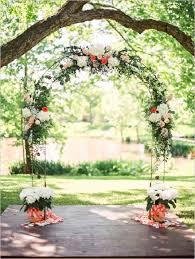 wedding arch garden 30 rustic backyard outdoor garden wedding ideas deer pearl flowers