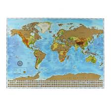 Scratch Off Map The Ultimate Scratch Off World Map Poster Bundle With Us States