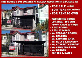 2 Storey House 2 Storey House In Golden Glow North 2 For Sale Rent Cdo Real Estate