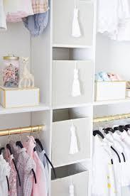 how to create a glam custom nursery closet on a budget project