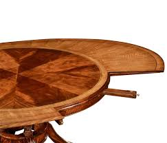 jonathan charles dining table extendable round to oval
