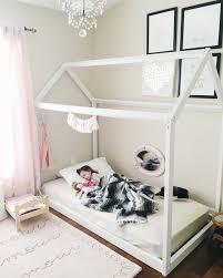 diy house frame bed diy pinterest toddler floor bed