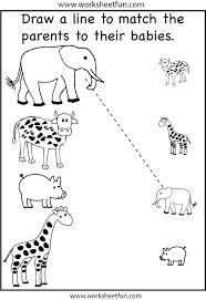 mitten animals printable forest pattern worksheets kindergarten