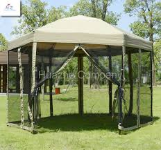 gazebo mosquito netting china 1 8m steel 6 edge shape folding gazebo folding gazebo pop up