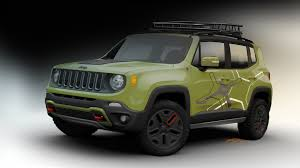 new jeep renegade green jeep renegade to show off new mopar gear in detroit autoblog