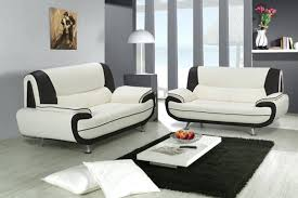 canap en blanc canap noir et blanc design cool canap duangle places nto noir et