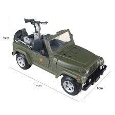 christmas jeep silhouette alloy military vehicle willys army jeep inertia buggy car model