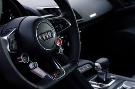 Audi R8 Interior - 2017 audi r8 v10 sings around the track in new video