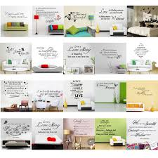 family love life quote wall sticker removable art vinyl home decal detail image