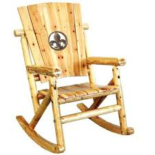 Patio Rocking Chair Outdoor Wooden Rocking Chair Vernon Teak Brown Outdoor Patio