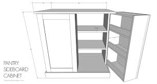 Kitchen Pantry Cabinet Plans by Kitchen Pantry Cabinet Buildsomething Com