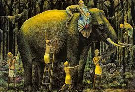 The Blind Men And The Elephant Robert Edward Weaver